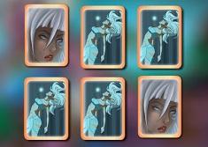 Princess Kida Memory Cards