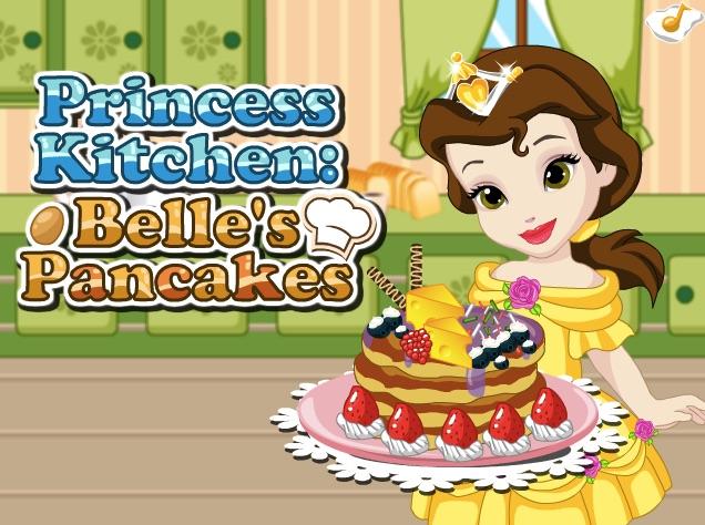 Princess Kitchen Belle Pancakes
