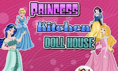 Princess Kitchen Doll House