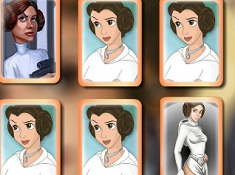 Princess Leia Memory Cards
