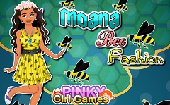 Princess Moana Bee Fashion