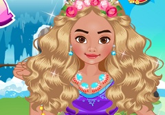 Princess Moana Dress Up