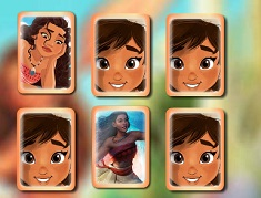 Princess Moana Memory Cards