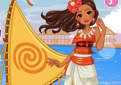 Princess Moana Ship