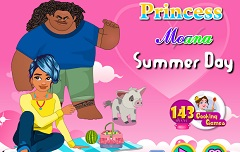 Princess Moana Summer Days