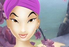 Princess Mulan Makeover 2