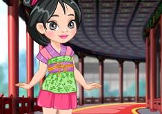 Princess Mulan Shoes Design