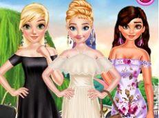 Princess Off the Shoulder Dress