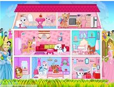 Princess Pets Doll House Decor