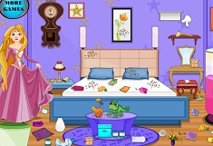 Princess Rapunzel Room Cleaning