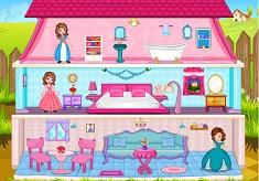 Princess Sofia Doll House Decor