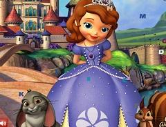Princess Sofia Hidden Letters