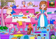 Princess Sofia Messy Bedroom