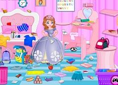 Princess Sofia Study Room Cleaning
