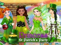 Princess St Patrick Party