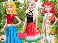 Princess Summer Fruits Style