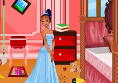 Princess Tiana Clean Up