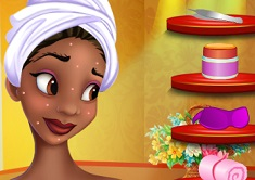 Princess Tiana Gorgeous Makeover