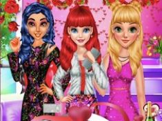 Princess Valentine Day Single Party