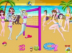 Princess VS  Monster High Volleyball
