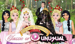 Princess Wedding Classic or Unusual