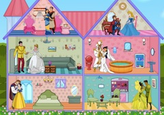 Princess Wedding Doll House