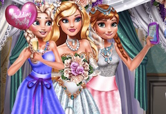 Princess Wedding Selfie
