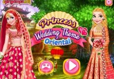 Princess Wedding Theme Oriental