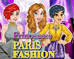 Princesses at Paris Fashion Week