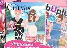 Princesses Beauty Plus Size
