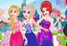 Princesses Bridesmaid Rush