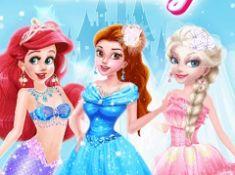 Princesses Different Style Wedding