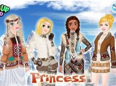 Princesses Eskimo Fashion