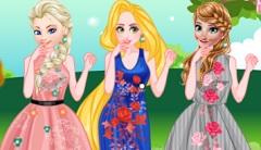 Princesses Floral Style