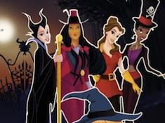 Princesses Halloween Night