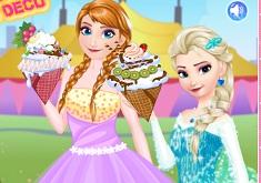 Princesses Ice Cream Deco