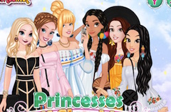 Princesses Off Shoudler Dress