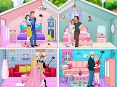 Princesses Selfie Doll House