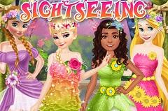 Princesses Spring Sightseeing