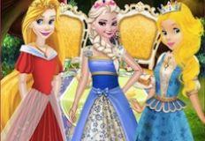 Princesses Tea Party in Wonderland
