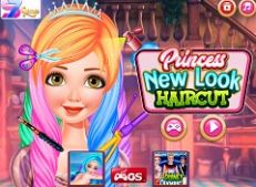 Princess New Look Hairstyles