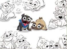 Puppy Dog Pals Friends Puzzle