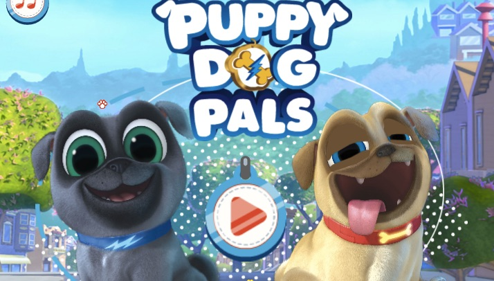Puppy Dog Pals Obstacle Run - Puppy Dog Pals Games