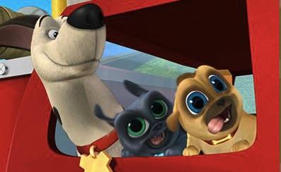 Puppy Dog Pals Puzzle