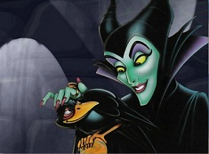 Puzzle Maleficent and Crow