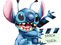 Puzzle with Stitch