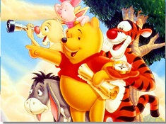 Puzzle with Winnie and Friends