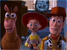 Puzzle with Woody and Jessie and Buzz