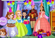 Queen Miranda Birthday Party Sofia The First Games