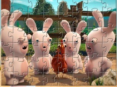 Rabbids Invasion Puzzle